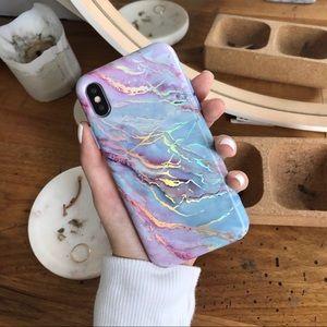 Velvet Caviar holographic iPhone X/XS case